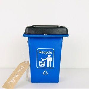 Pink Haley Brinley Recycle Bin Crossbody Bag